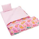 Wildkin Olive Kids Paisley Sleeping Bag 1
