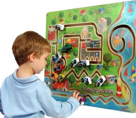 Anatex City Transportation Wall Panel Toy Wall Panel