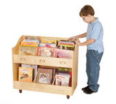 Guidecraft Mobile Book Organizer 1