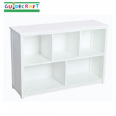 Guidecraft Classic White Bookshelf 1