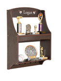 Guidecraft Expressions Trophy Rack: Espresso 1