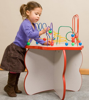 Flower Shaped Wire & Beads Game Table