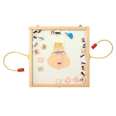 Funny Face Magnetic Wall Game