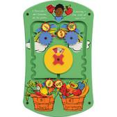 Gressco Fruits and Veggies Wall Activity Panel