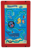 1-2-3 Under the Sea Activity Wall Panel