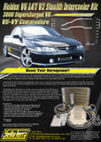 HOLDEN V6 ECOTEC L67 VS-VY V2 STEALTH INTERCOOLER KIT