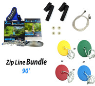ZL-90 90' Zip Line Bundle