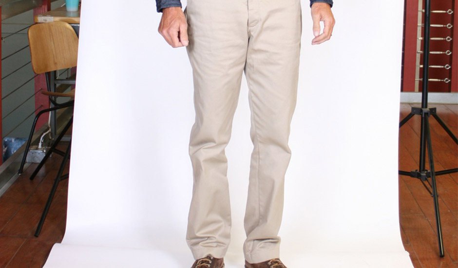The History and Future of our Cramerton Chinos