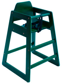 Eurobambino High Chair - Green