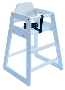 Eurobambino High Chair - White