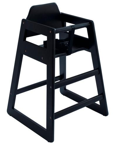 Eurobambino High Chair - Black