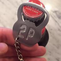 Kettlebell (bottleopener) Keychain