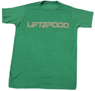 LIFT2POOD Express Shirt (Heather Green)