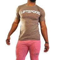 LIFT2POOD Express Shirt (Heather Brown)