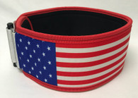 Stars and Stripes Straight Belt (w/ WODclamp®)