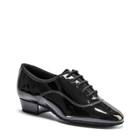 "Boys MT - Black Patent - Pictured on the 1"" heel."
