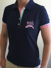 Ladies Navy Polo Shirt
