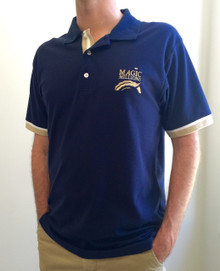 Mens Navy Polo Shirt