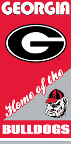 Georgia Bulldogs Towel