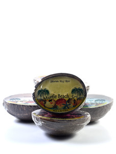Myrtle Beach Tropical Coconut Candle