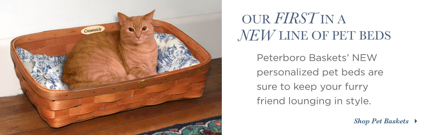Peterboro Basket Pet Bed