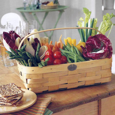 Convenient 6-compartment garden caddy