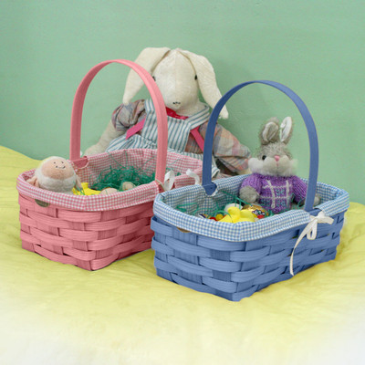 Peterboro Quality Easter and Newborn Gift Basket with Liner