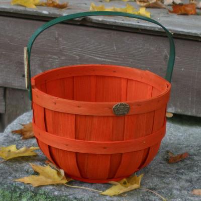 Peterboro Jack-O'-Lantern & Pumpkin Basket