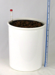 "6"" tall Hydro Planter - White"