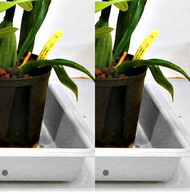 "Grower Trays 22""x 11"" (white) for outdoors - Buy 2 - Save $3.00"