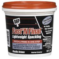 Dap Fast n Final Lightweight Spackling