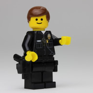 LAPD Officer Smiles