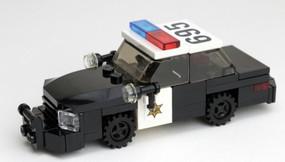 Orange County Sheriff - Crown Victoria | Black Rims