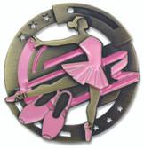 Ballet Enameled Medal from Cool School Studios.