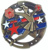 Cheer Enameled Medal from Cool School Studios.