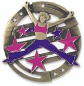Dance Enameled Medal from Cool School Studios.