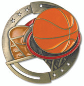 Basketball - Enameled Medals - Priced Each Starting at 12