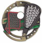 Lacrosse Enameled Medal from Cool School Studios.