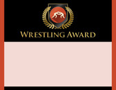 Gold Shield Wrestling Award from Cool School Studios.