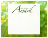 Lasting Impressions Mathematics Award, Style 2 (Cool School Studios 02116).