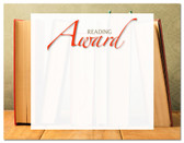 Lasting Impressions Reading Award, Style 2 (Cool School Studios 02123).