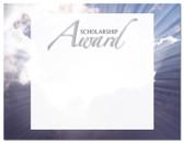 Lasting Impressions Scholarship Award, Style 2 (Cool School Studios 02127).