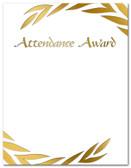 Cool School Studios' Attendance Award.