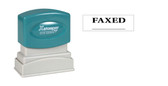 1-Color FAXED Xstamper® - Style 1