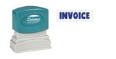 1-Color INVOICE Xstamper®