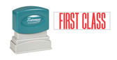 1-Color FIRST CLASS Xstamper®