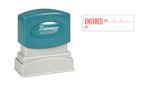 1-Color ENTERED Xstamper®