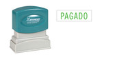 Spanish PAGADO (PAID) Xstamper®
