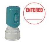 Round ENTERED Xstamper® - Style 2