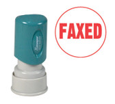 Round FAXED Xstamper®